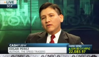 The Speed Traders' Edgar Perez to CNBC's Oriel Morrison, Criticism of High-Frequency Trading Phenomenon Unfair