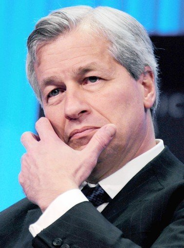 JPMorgan Chase's Jamie Dimon (Eric Piermont / AFP/Getty)